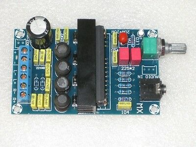 12V TA2020 Class T 20W+20W Dual Stereo Digital Audio Amplifier Board car speaker