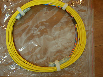 Optical Cable Corp. Single-mode LC-LC 2C OS2  Laser Ultra-Fox Fiber Cable 10m