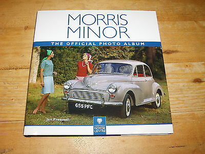 Sale Book - Morris Minor-The Official Photo Album by Jon Pressnell. Was £19.99