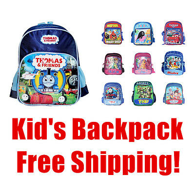Kids Boys Girls Shoulder School Bag Backpack Small Medium Picnic Rucksack Gift