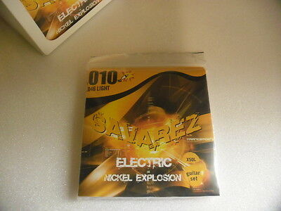 SAVAREZ X50L guitar strings set- Jeu de cordes 010-046 - ELECTRIC.NEUF