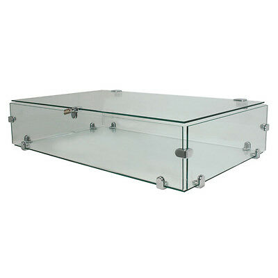 Countertop Glass Showcase Jewelry Display Retail Store Fixture Knockdown NEW