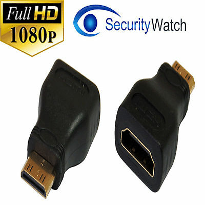NEW HDMI Female to Mini HDMI Type C Male Gold Plated Adapter Converter #66147