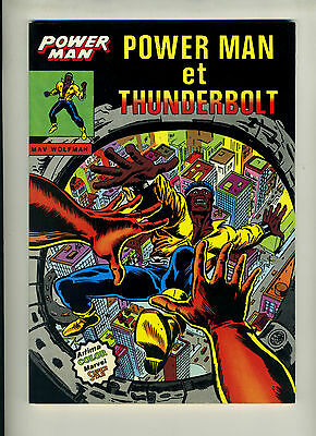 (122A) Power Man et Thunderbolt Mav Wolfman