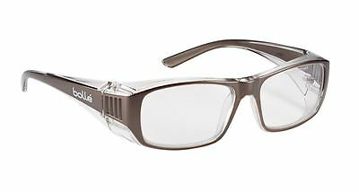 Bolle B808 Prescription Range Safety Spectacles Glasses - Clear Lens