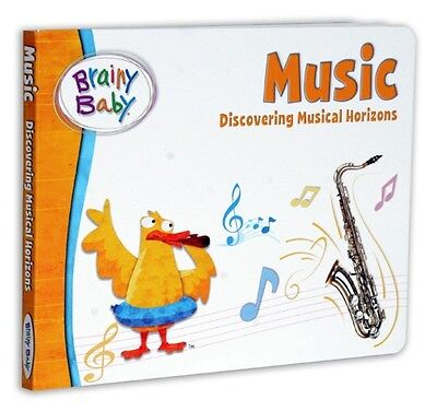 Brainy Baby Music Board Book for Ages 2-5 years