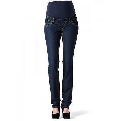 Maternity SLIM Pregnancy Jeans With Bump Band, Malene by Mamalicious WAS £35.00