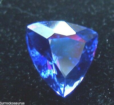 VVS 17.70CT 100% Natural Unheated AAAAA Violet Blue Tanzanite D'Block