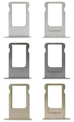 Replacement Sim Tray Card Slot Holder Plate For Apple iPhone 6 Metal Ejector Pin