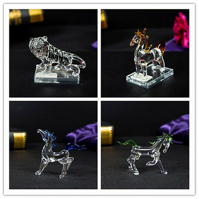 Animal  swarovski crystal Element Horse Tiger Crystal ornament Gift Present