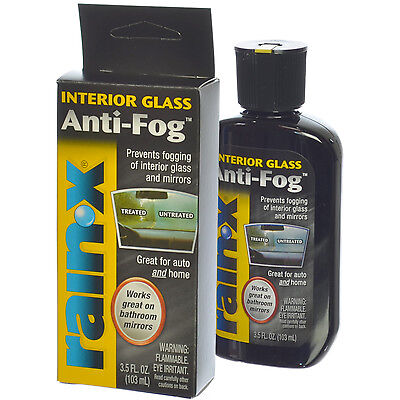 Rain-X Interior Glass Anti-Fog Prevents Fogging for Car Interior Glass & Mirrors