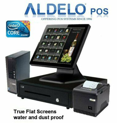 CORNER STORE POS POSIFLEX Retail All-in-one Station Complete