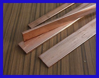 Copper Flat Bar Various Sizes !!!!!