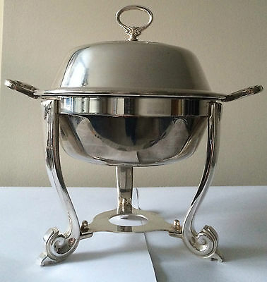 Quality Silver Plated Chafing Dish Small Sambonet Italy Immaculate Condition