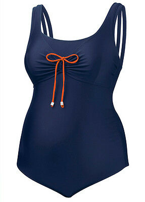 NEW - Amoralia - Juniper Maternity Swimsuit in Navy