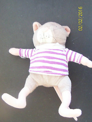 "Plush RAT stuffed Animal childs book character Hooway for Wodney Wat 7"" HTF"