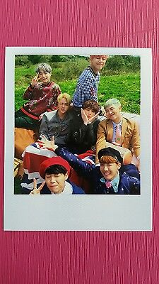 BTS GROUP All Member Official POLAROID Photocard Special Album YOUNG FOREVER 방탄