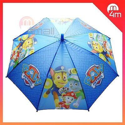 Boys Kids Umbrella Sun-Shade Parasol Raincoat Paw Patrol Ryder Chase Marshall