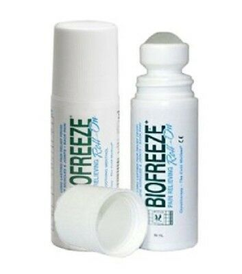Biofreeze Roll On3oz/89ml Twin Pack Pain Relief Back Pain Arthritis Sore Muscles