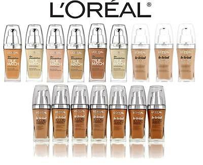 L'oreal True Match Super Blendable / Le Teint New Foundation **choose Shade**