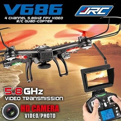 V686 Drone Wltoys RC Quadcopter 2.4G 6 Axis 4CH FPV Drone with Live HD Video NEW