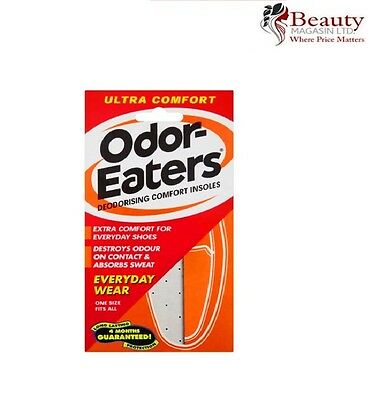Odor-Eaters Ultra Deodorising Comfort Insoles Everyday Wear