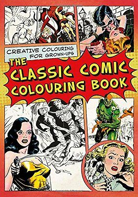 The Classic Comic Colouring Book: Creative Colouring New paperback-9781782436362