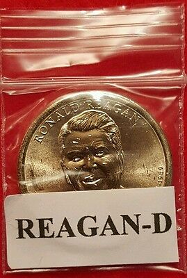 2016-D Ronald Reagan Presidential Dollar Coin From Rolls(In Stock)