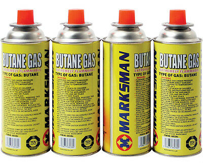New 4 Butane Gas Canister Bottles Camping Heater Cooker Bbq Cooking Stove Grill