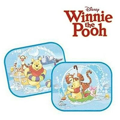 2 x Genuine Disney Winnie the Pooh Sun Shades for Car Window Blinds for Kids. De