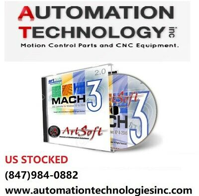Mach3 CNC software, 1 CD disk, No Shipping fee, We will ship you a CD