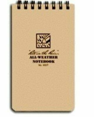"""3"""" X 5"""" Tactical Weatherproof Pocket Notebook By Rite In The Rain (80-0370)"""