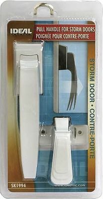 Ideal Security SK1994W PULL HANDLE SET WHITE STORM DOOR HARDWARE replace push