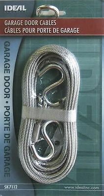 """Ideal Security SK7112 GARAGE DOOR EXTENSION CABLE 12'6"""" length each galvanized"""