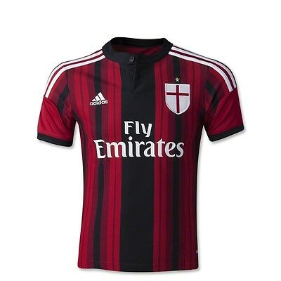 Adidas AC Milan 14/15 Youth Home Soccer Jersey