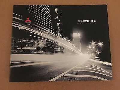 2016 MITSUBISHI Full Line 24-page Small Original Sales Brochure