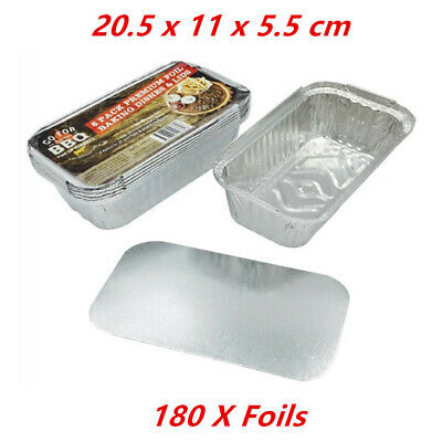 180 X Small Foil Roasters - Party, Kitchen, Restaurant, Wedding, Event