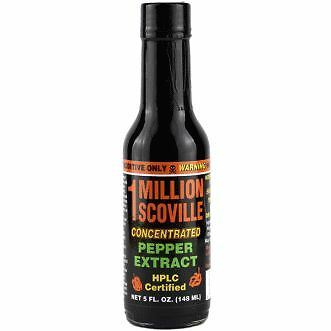 1 Million Scoville Pepper Extract Hot Sauce