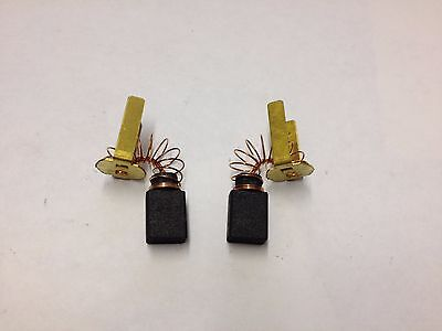 New Genuine Milwaukee Carbon Brush Set  (2X) 22-18-6230