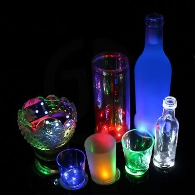 3 LED Light Coaster Color Changing Bottle Mat Cup For Party Bars High-Quality