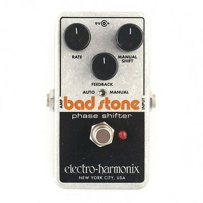 EHX Electro Harmonix BAD STONE Phase Shifter Guitar Pedal / Stomp Box