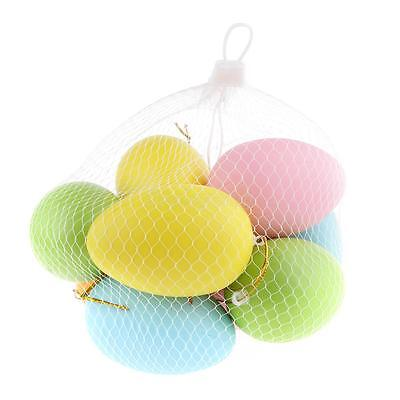 Plastic Surprise Bright Eggs Easter Hunt Children Gifts Decoration Toys New