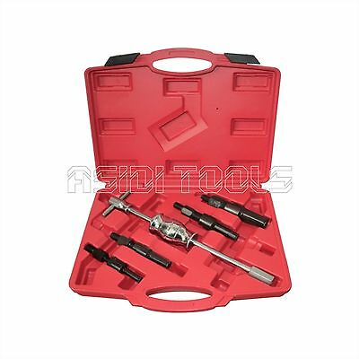 5 Pc Blind Inner Bearing Puller Set Automotive Vehicle Service Tool