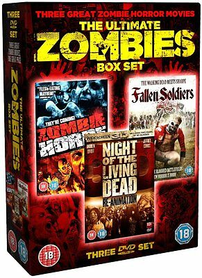 The Ultimate Zombies Box Set - NEW DVD