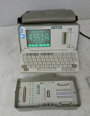 HP 4951A Protocol Analyzer w Opt 001