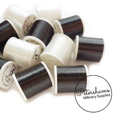 Clear or Smoke Colour Invisible Sewing Thread, 200 Yard Spool