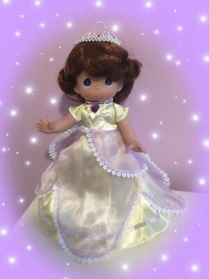"Disney Sofia the First Doll in Yellow - Precious Moments 12"" Vinyl Doll"
