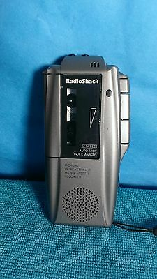 Radio Shack Micro-cassette Voice Recorder Dictation System.