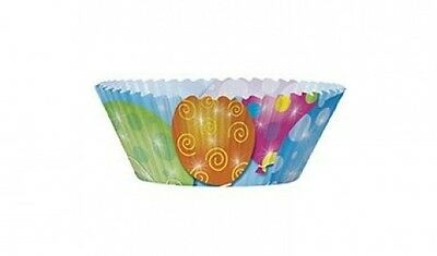 24 Cupcake Cases Picks with Balloons Best Durable Artsy Cases Cover. Brand New
