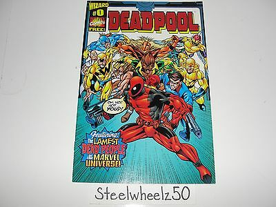 Deadpool #0 Comic Marvel 1998 1st Series Wizard Promo Exclusive Edition Kelly